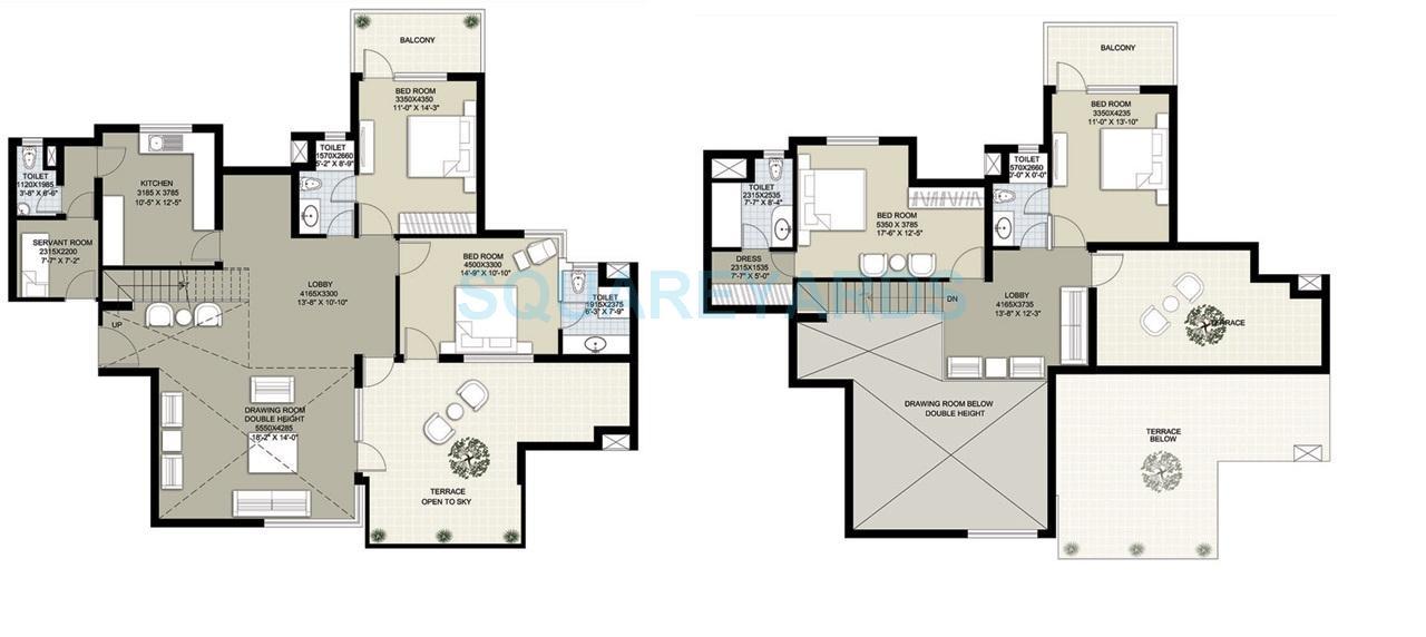 raheja navodaya penthouse 4bhk 3215sqft 1