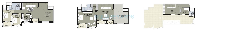 raheja vedas penthouse 3bhk 4559sqft 1
