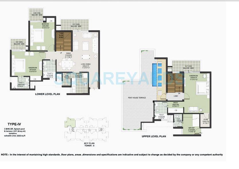 satya the hermitage penthouse 3bhk 2555sqft 1