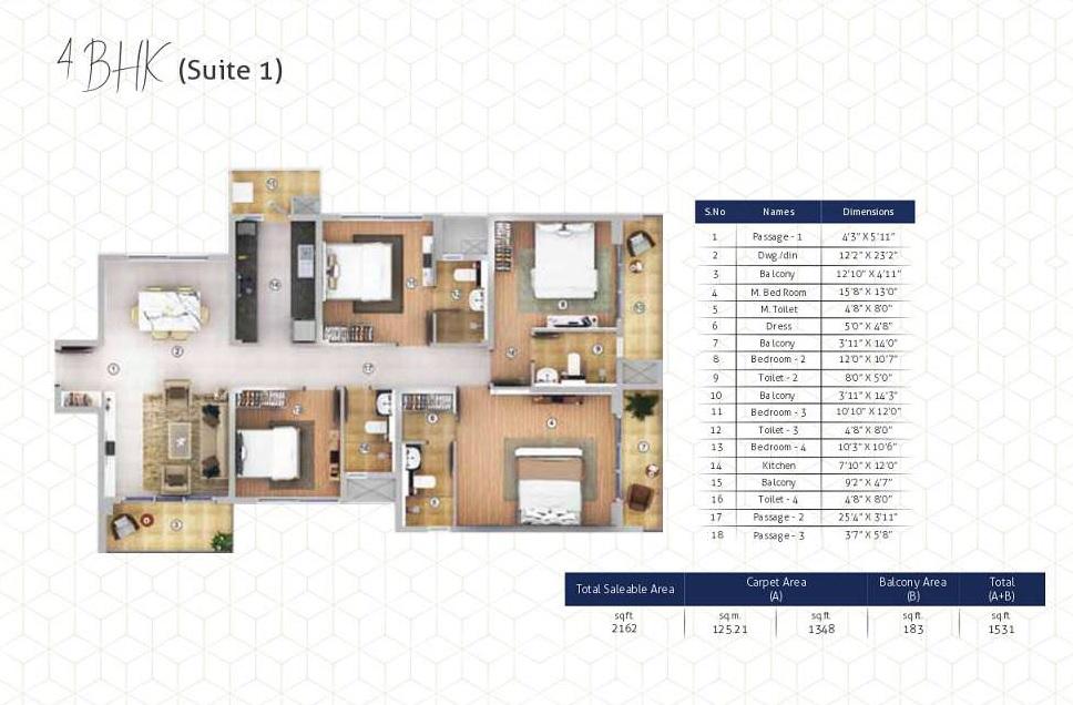 shapoorji pallonji joyville gurgaon apartment 4 bhk 1348sqft 20211504131549
