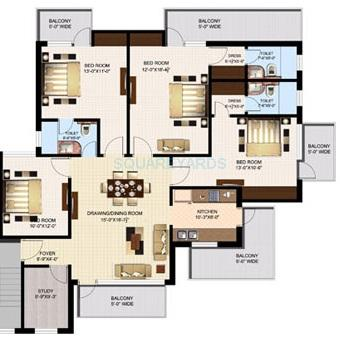 sidhartha ncr green floors independent floor 4bhk 2330sqft 1