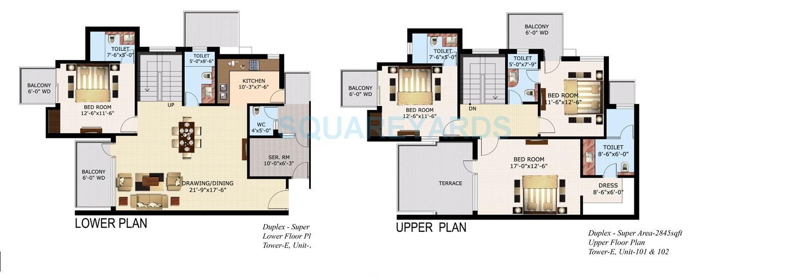 sidhartha ncr lotus apartment 4bhk 2845sqft 1