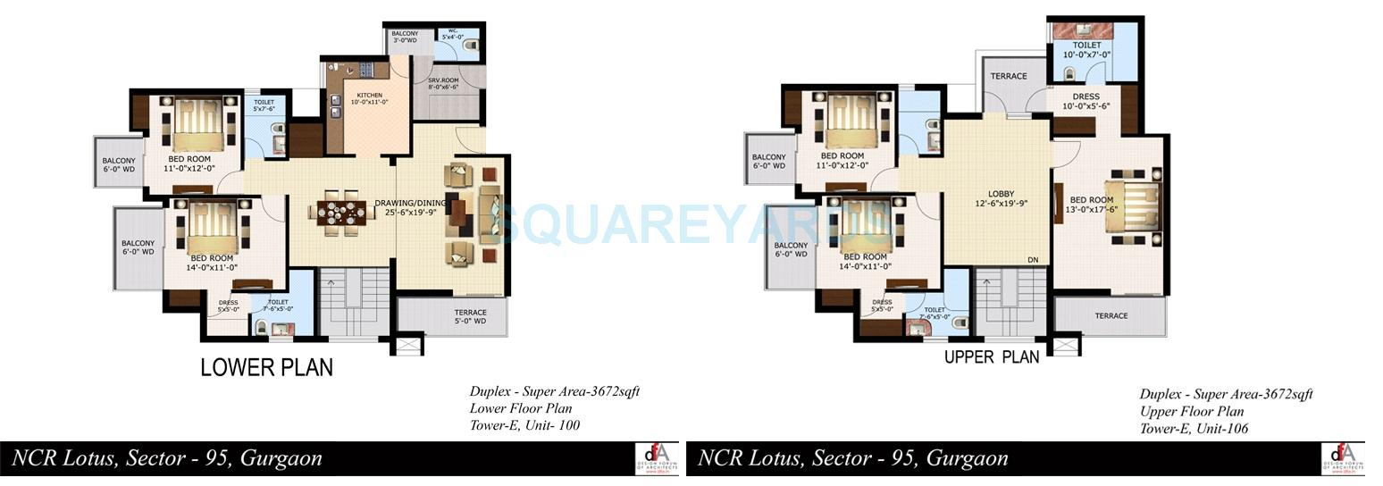 sidhartha ncr lotus apartment 5bhk 3672sqft 1