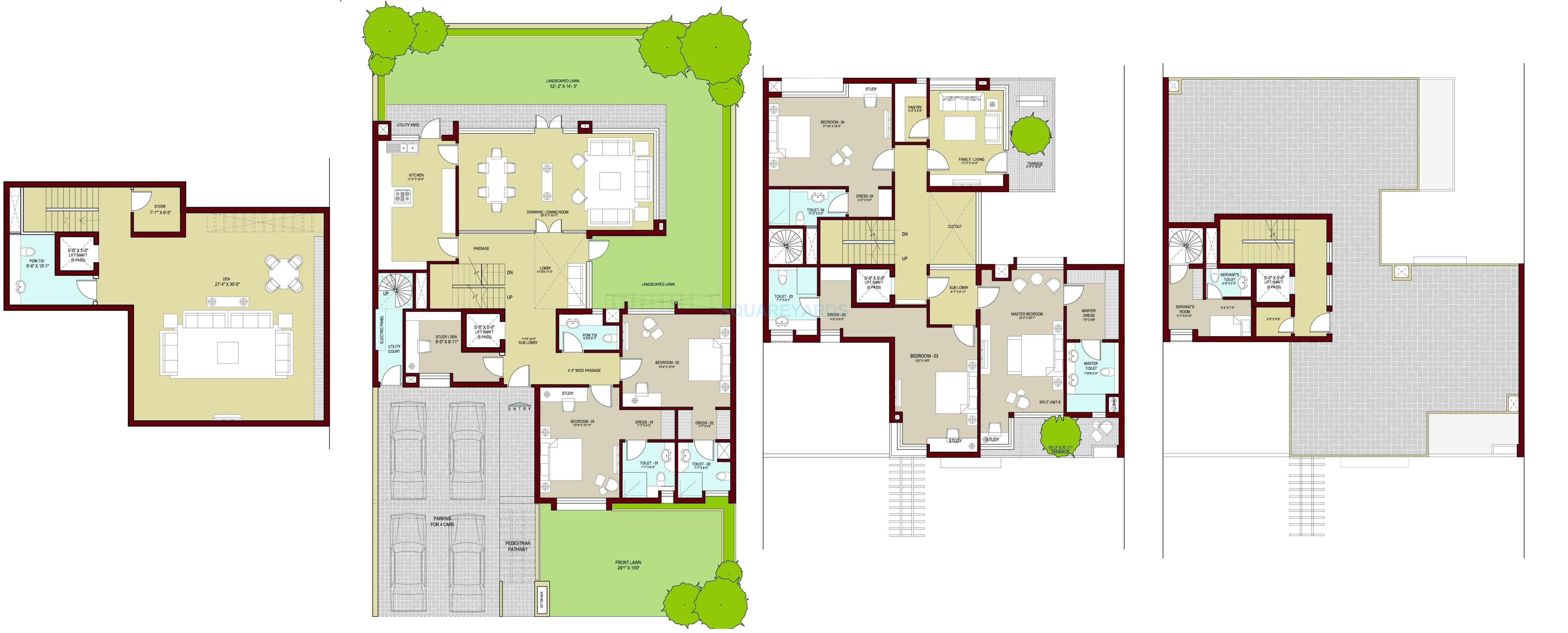 vatika signature villas villa492sqyds 5bhk 5574sqft 1