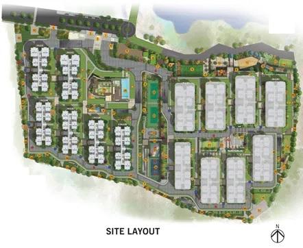 aparna sarovar zicon project master plan image1
