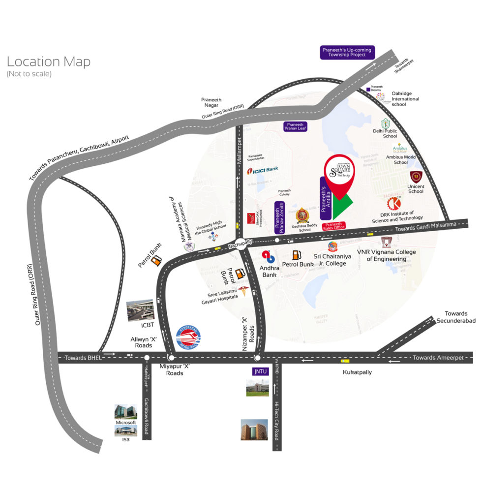apr pranav townsquare project location image1