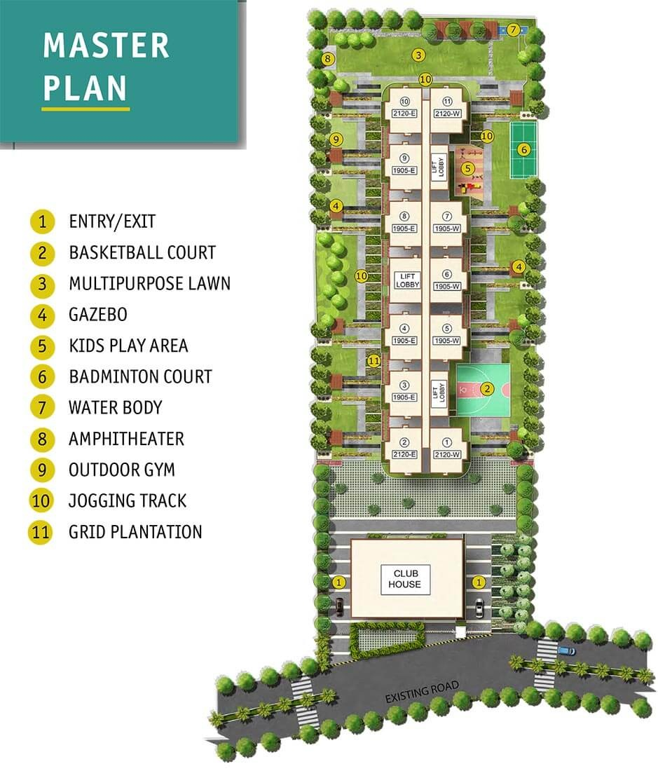 asbl spire project master plan image1