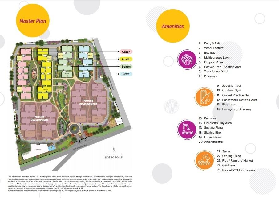 brigade citadel phase iii project master plan image1