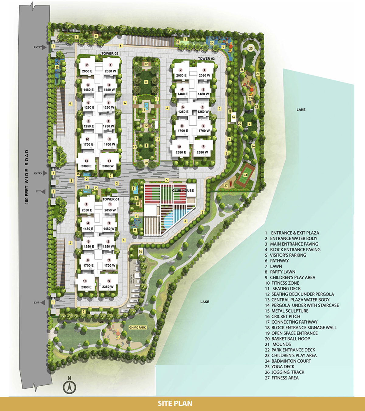 cyber city oriana project master plan image1