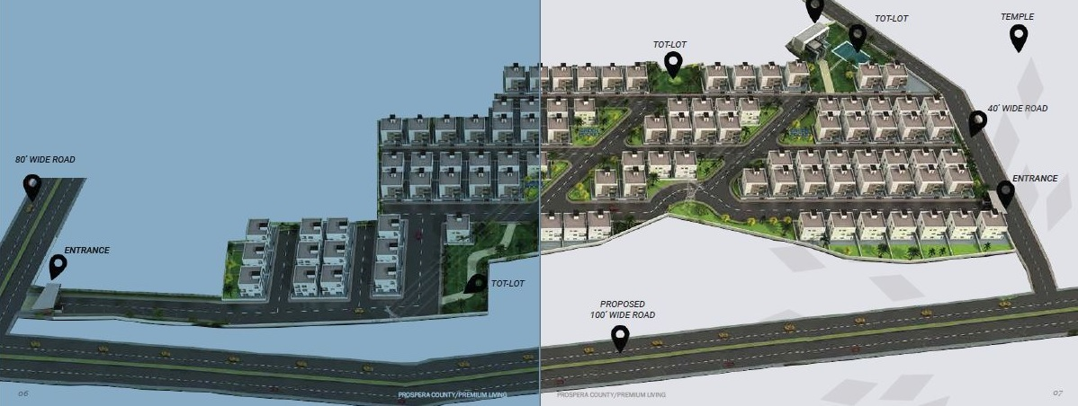giridhari prospera county master plan image7