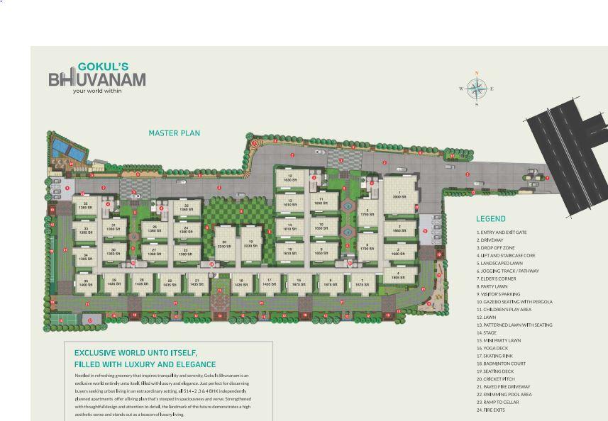 gokuls bhuvanam project master plan image1