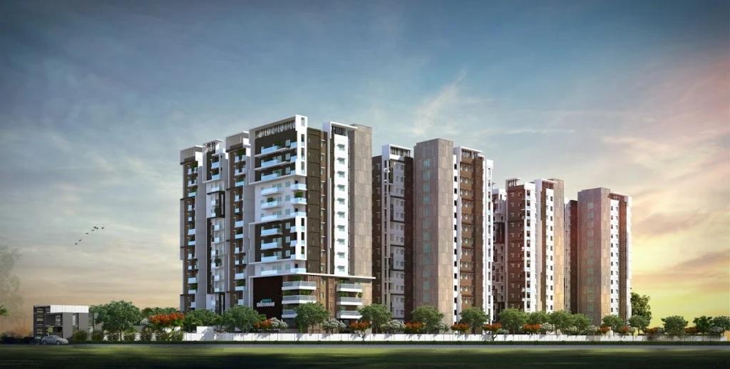 gokuls bhuvanam project tower view1