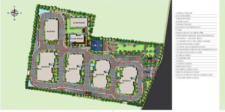 harsha sky high master plan image6