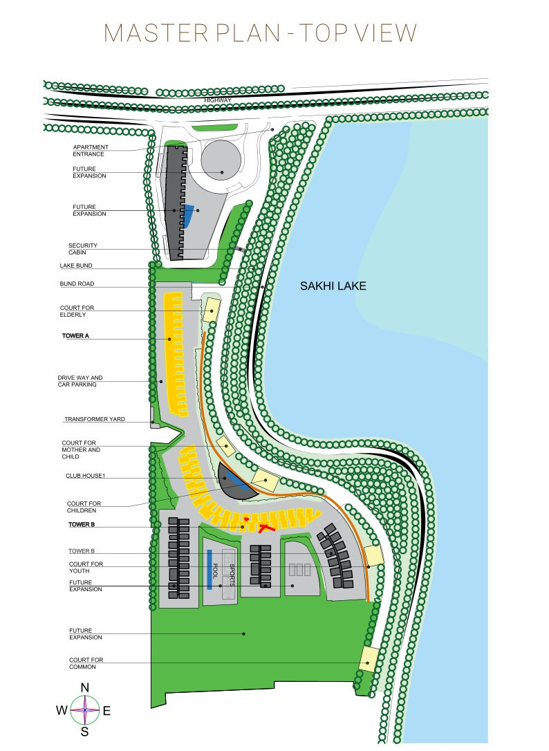 incor live by lake project master plan image1