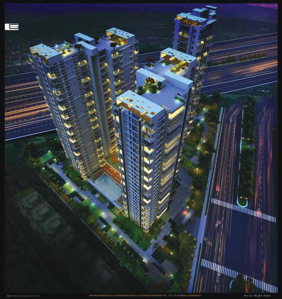 tower-view-Picture-jayabheri-the-peak-2375016