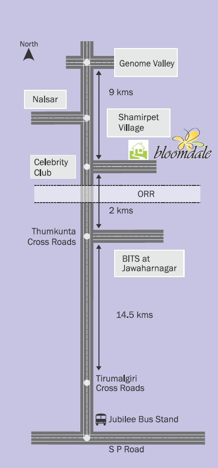modi bloomdale location image2