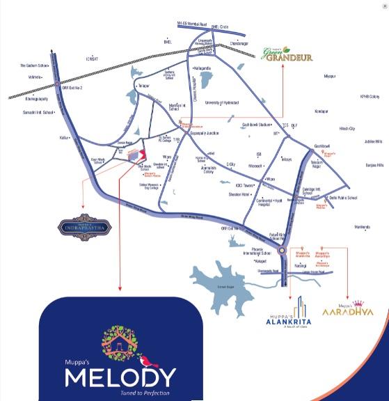 muppa melody project location image1