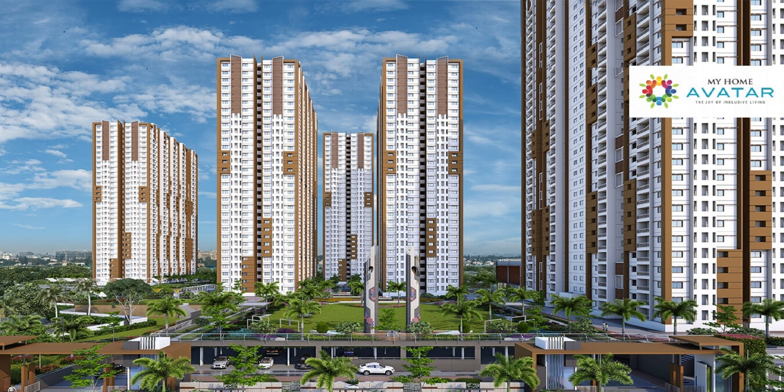 My Home Avatar Price On Request 2 Bhk 3 Bhk Bhk Floor Plans Available In Gachibowli Hyderabad