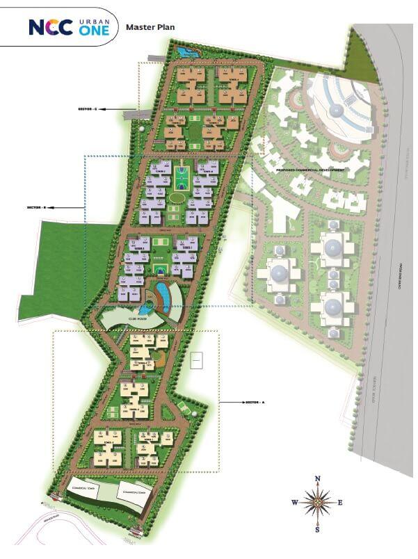 ncc urban one master plan image1