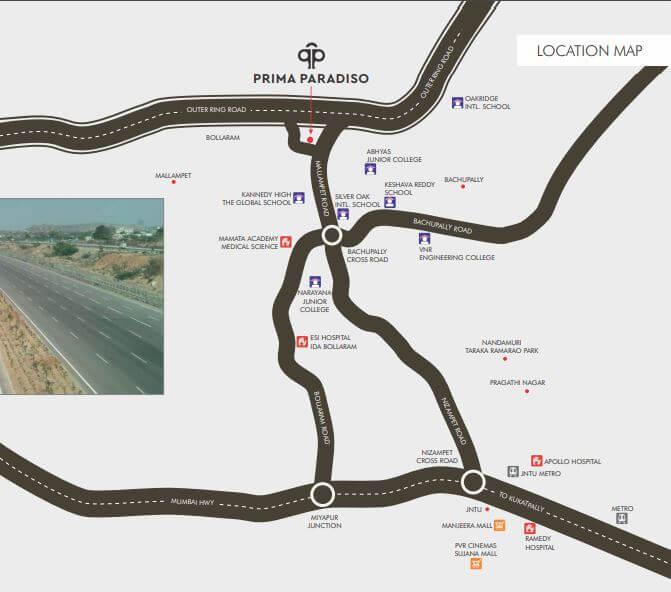 prima paradisoo location image1