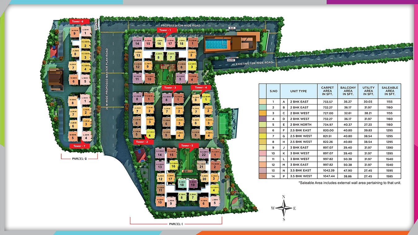 ramky one harmony project master plan image1