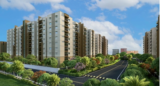 ramky one harmony project tower view2
