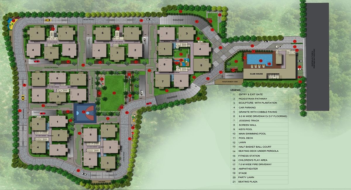 sri aditya athena master plan image16