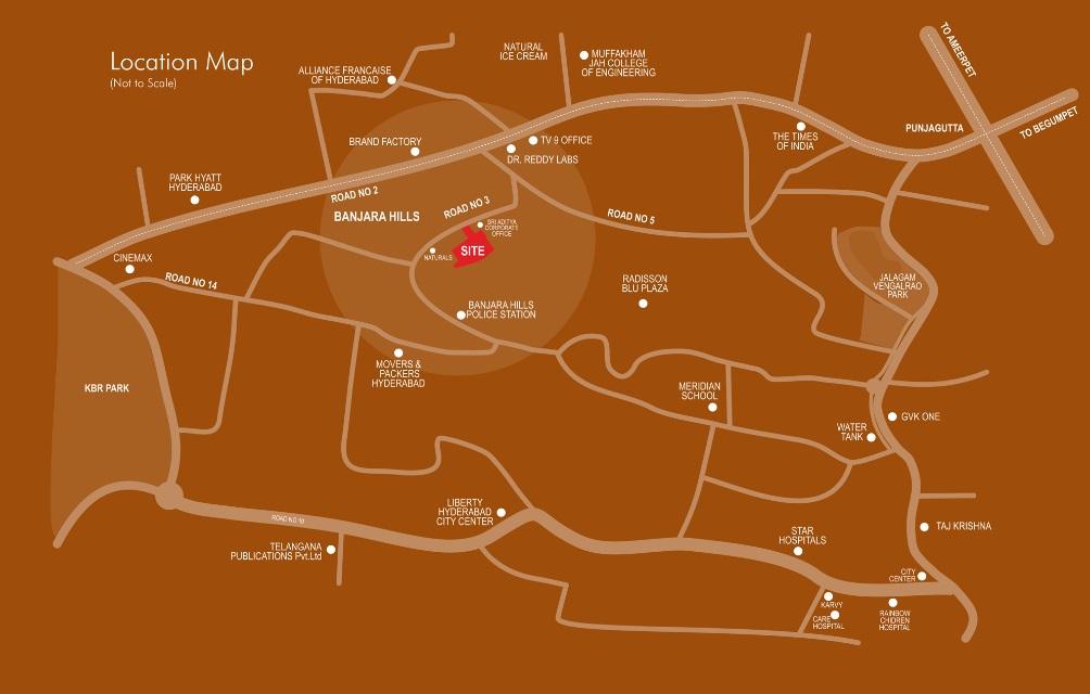 sri aditya lifestyle location image4