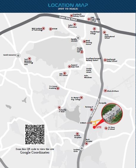 sri vyshnav gardenia project location image1