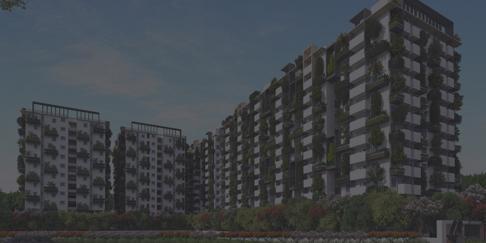tripura green alpha project tower view1