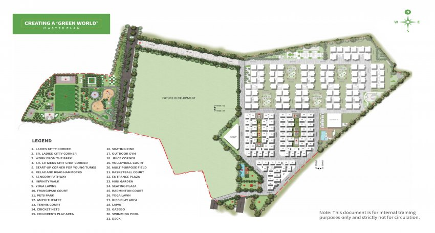 urbanrise spring is in the air project master plan image1