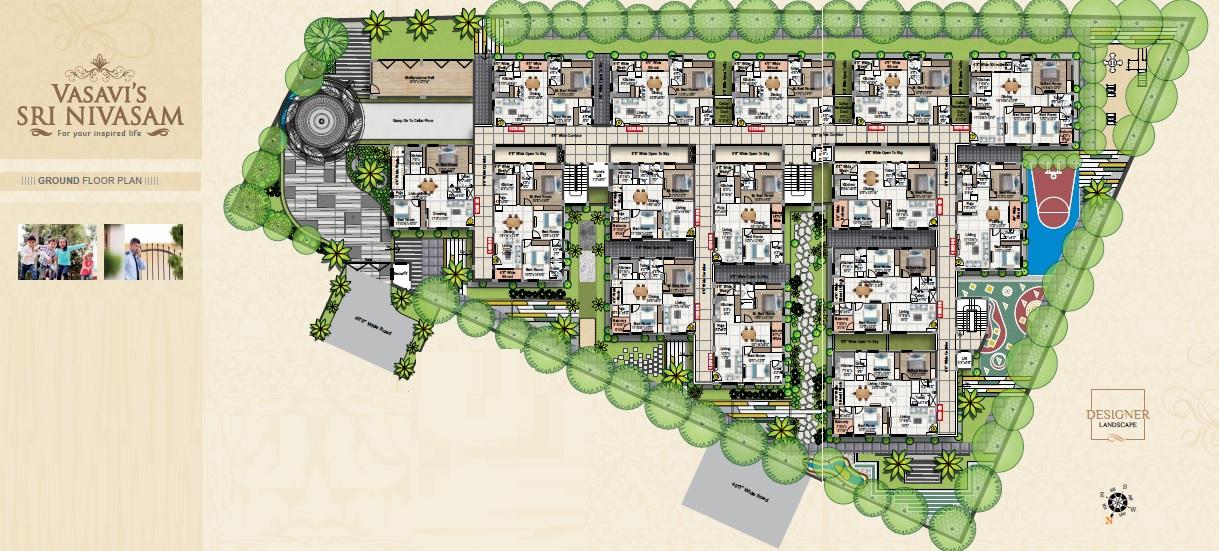 vasavi sri nivasam project master plan image2