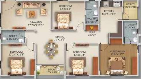 gowra urban winds apartment 4 bhk 1760sqft 20215113145110