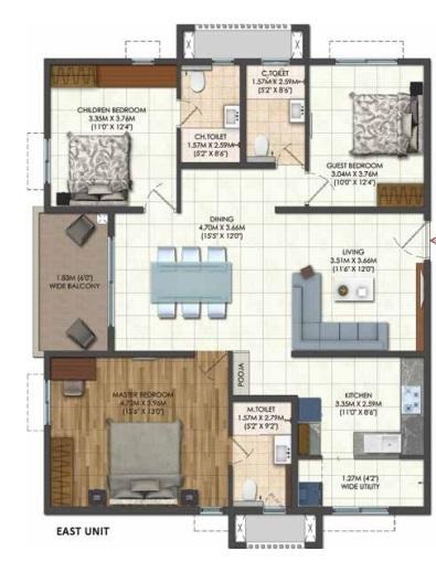 brigade citadel phase iii apartment 3 bhk 1793sqft 20211805191816