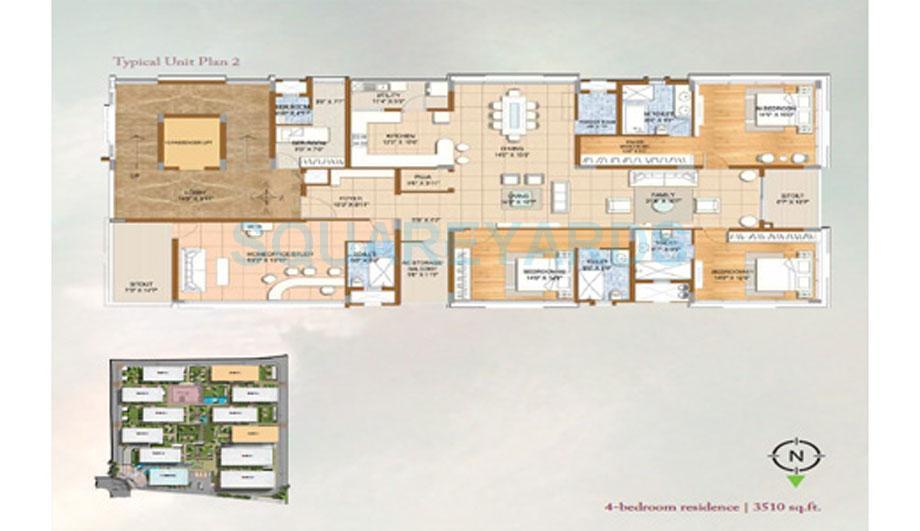 brigade no 7 apartment 4bhk 3510sqft1