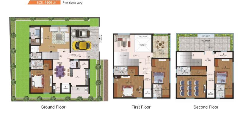 cmg halcyon homes villa 4bhk 4600sqft61