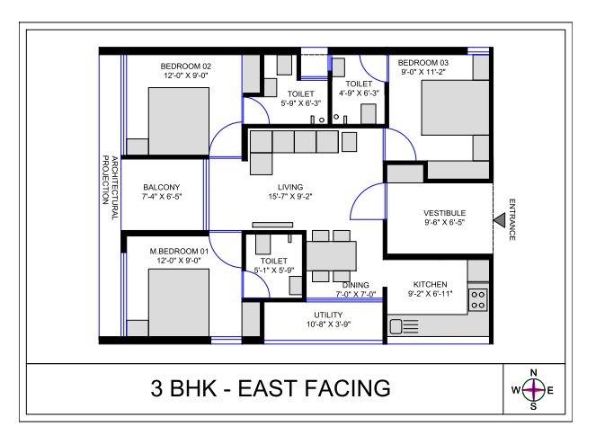 codename patancheru apartment 3bhk 1075sqft31