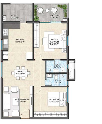 ghr titania apartment 2 bhk 1270sqft 20200120120145