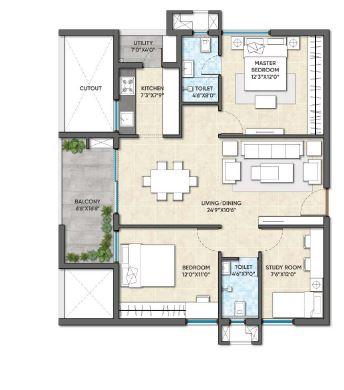 ghr titania apartment 2 bhk 1297sqft 20200220120243