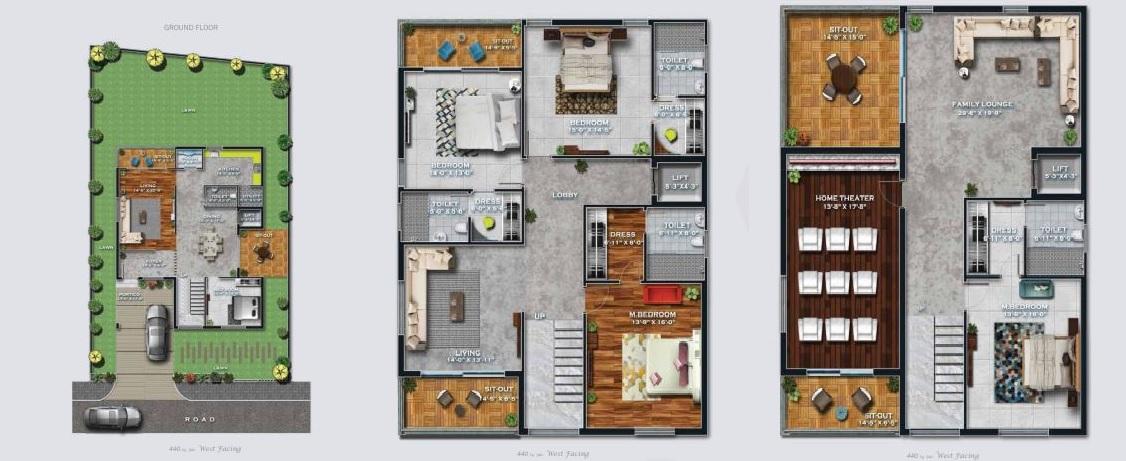 giridhari prospera county villa 4bhk 5100sqft31