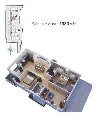 gokuls bhuvanam apartment 2 bhk 1380sqft 20213715113711