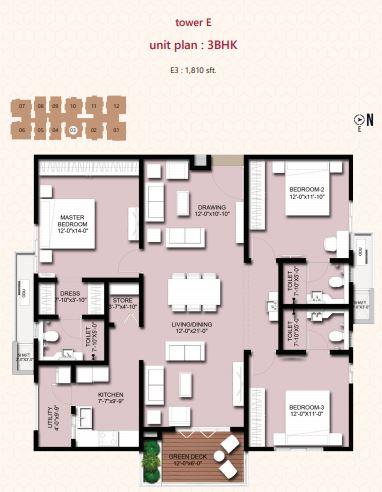 incor vivo city apartment 3bhk 1810sqft11