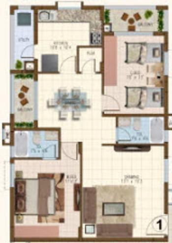 indiabulls centrum hyderabad apartment 2 bhk 1379sqft 20214805154853
