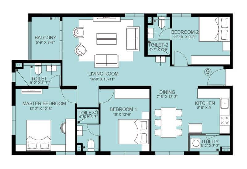 indis pbel city apartment 3bhk 1800sqft151