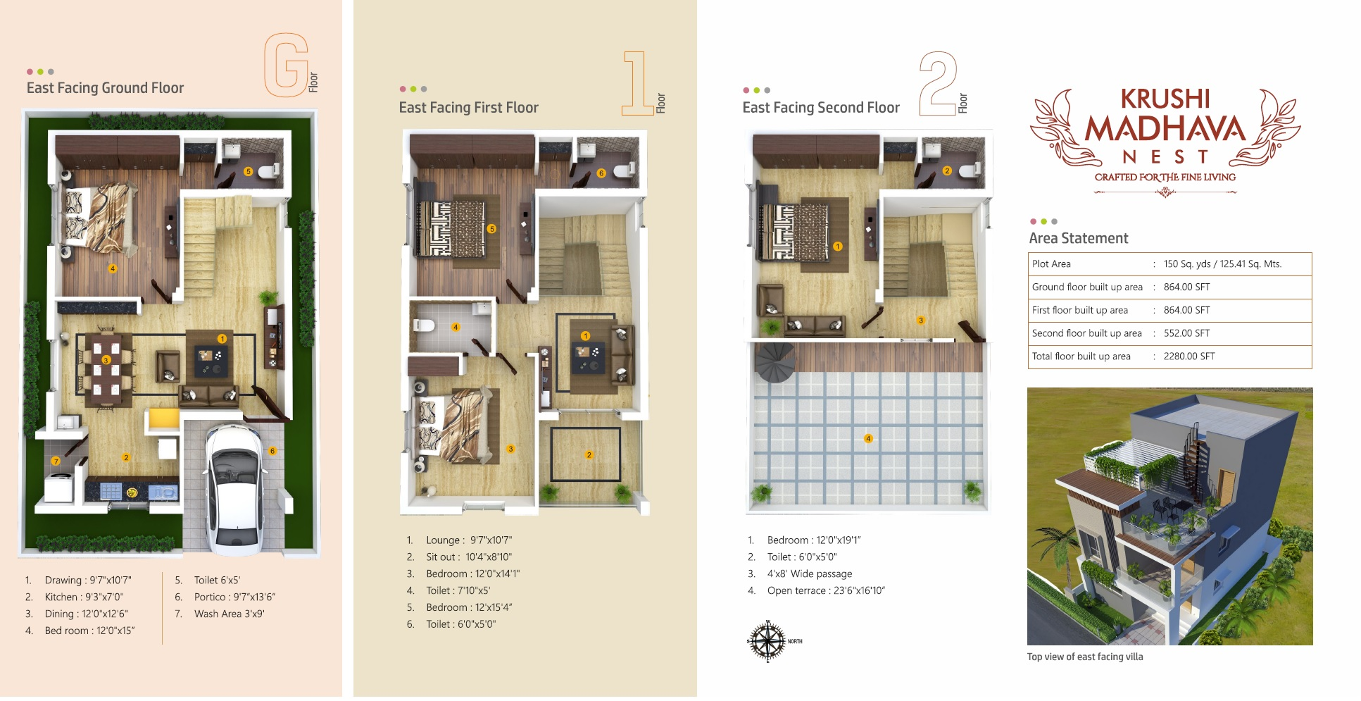 krushi madhava nest villa 4 bhk 2280sqft 20214427144423