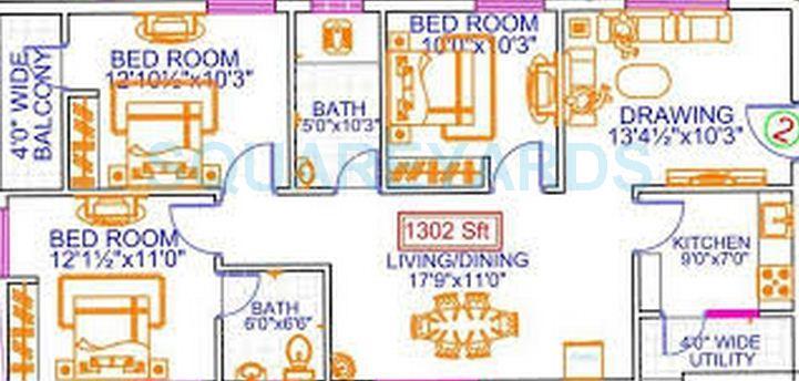 legend anthem apartment 3bhk 1302sqft1