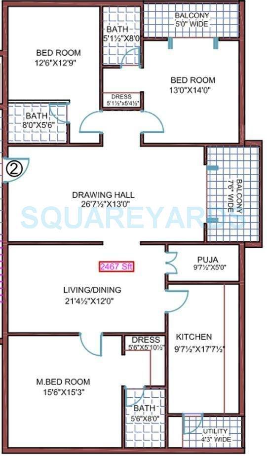 legend exotica apartment 3bhk 2467sqft1