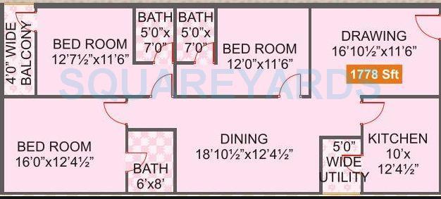 legend venkatesa apartment 3bhk 1778sqft1