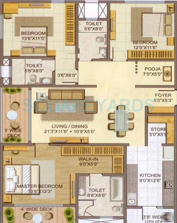lodha casa paradiso apartment 3bhk 1818sqft1