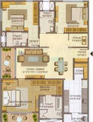 lodha casa paradiso apartment 3bhk 2160sqft1